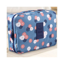 Oxford Cloth Travel Makeup Package Portable Cosmetic Bag Hanging Cosmetic Bag Organizer for Shower Toiletries Travel Tool Bag
