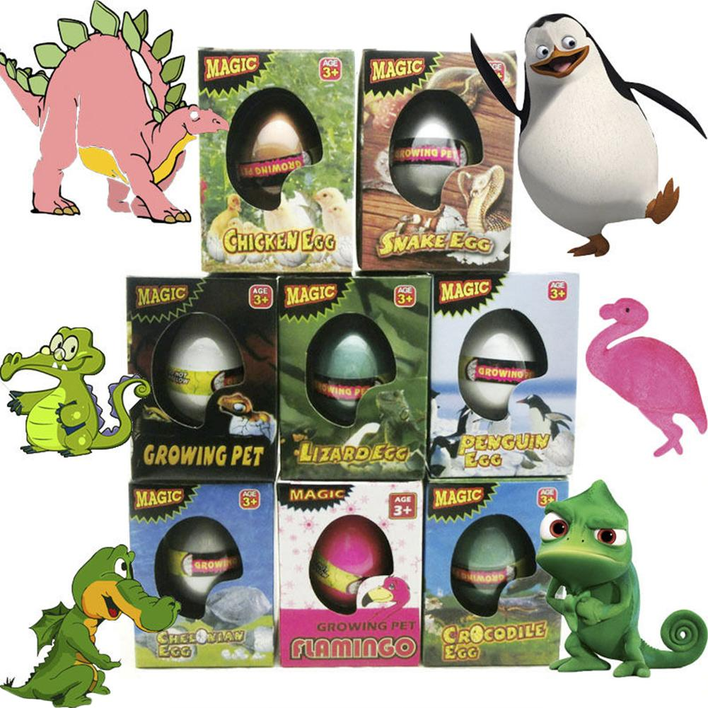 Nvoety Egg Toys Magic Hatching Growing Dinosaur Eggs Revivable Egg Growing In Water Pets Children Kids Gift Toy Animal