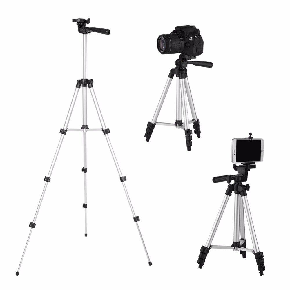 100% Wahr Universal Tragbare Kamera Stativ Für Iphone Mit Rocker Arm Stativ Für Canon/nikon/sony Dslr Kamera Camcorder Stativ