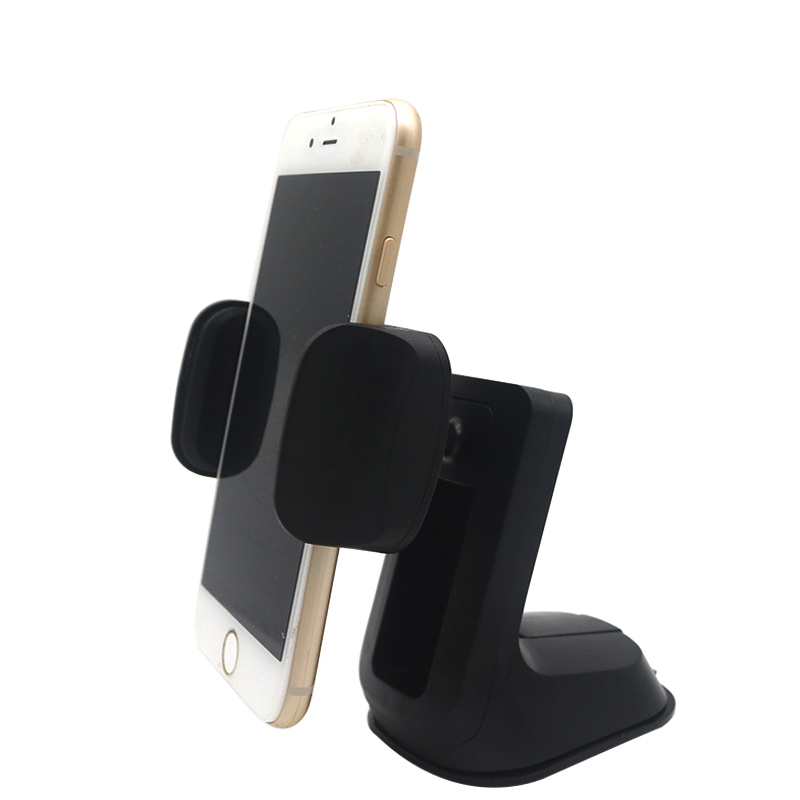 ALMXM Universal Car Phone Holder Windshield Mount Cell Phone Holder 360 Degree Rotation Stand for iPhone Samsung Cellphones
