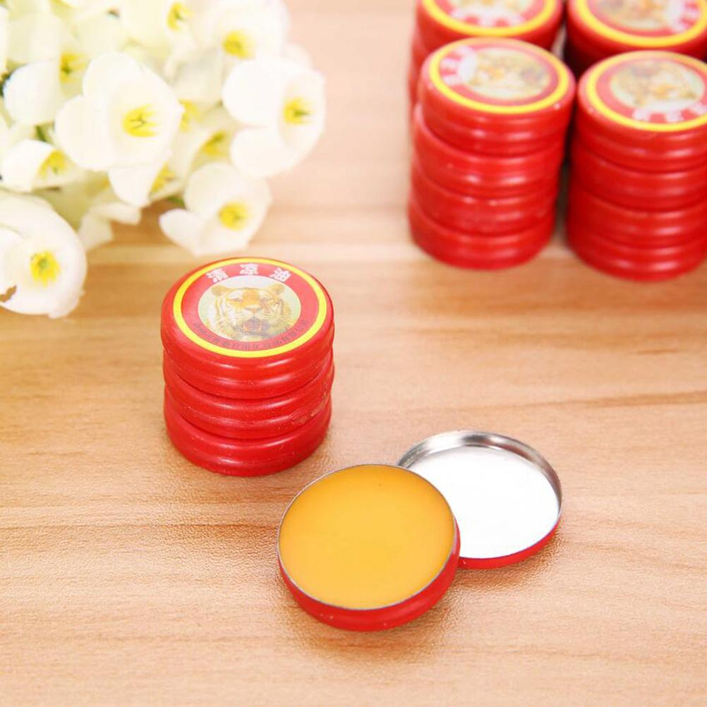 2Pcs/Box Classical Chinese Brand Tiger Balm Pain Relieving Tiger Balm Ointment Pure Natural Peppermint Essential Oil