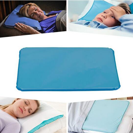 1Pcs Summer Water Cooling Memorial Pillow Multifunctional Muscle Relief Mat Cool Ice Pad Sleeping Supplies 2016