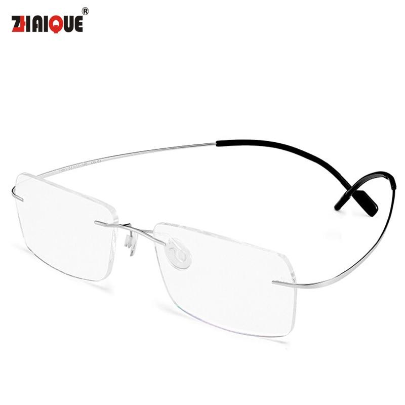b84a79eb57c 2015 New Titanium Brand Silhouette Glasses Frame Eyeglasses Men women With Original  Case Oculos de grau