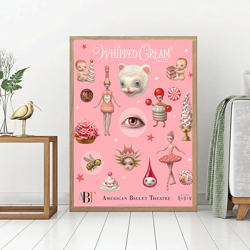 Mark Ryden Whipped Cream Canvas Painting Print Bedroom Home Decoration Modern Wall Art Oil Poster Picture Framework HD