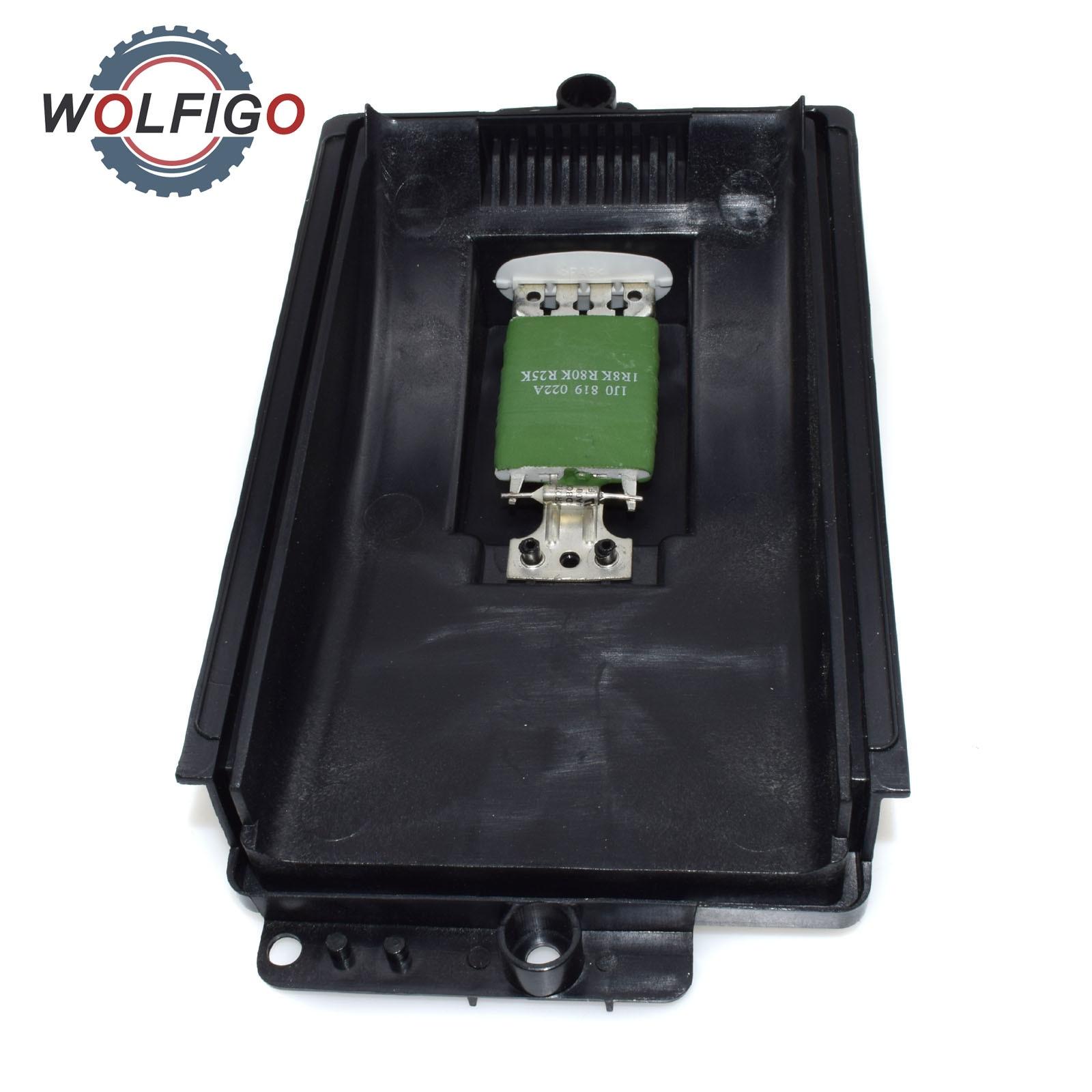 1x Heater Motor Fan Blower Resistor For AUDI VW VOLKSWAGEN SKODA SEAT 1J0819022A
