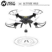 거룩한 돌 HS110 FPV RC 드론 카메라 RC 헬리콥터 720P HD 라이브 비디오 와이파이 2.4GHz 4CH 6 축 자이로 고도 Hold Quadcopter