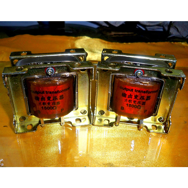 15K 600 ohm tube amplifier preamp input output transformer pre stage choke primary inductance about 74H