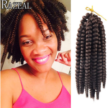 Crochet Hair Vendors : ... hair curly crochet hair extension from Reliable braiding hair