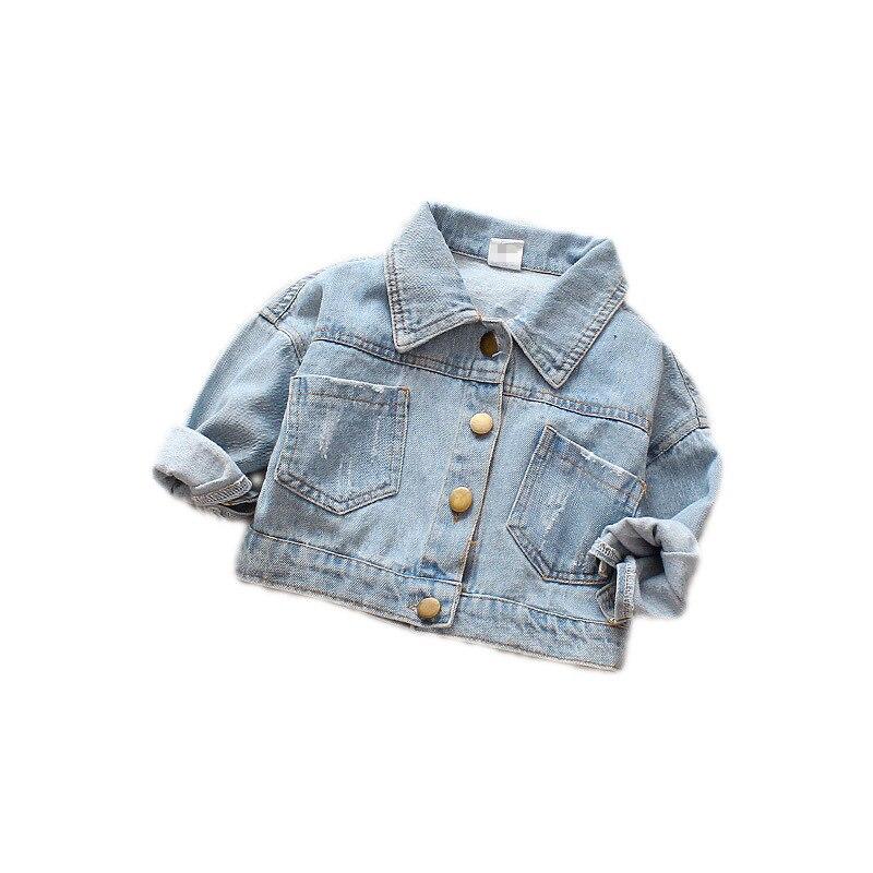 Autumn New Baby Kids Coats Casual Denim Jacket Baby