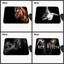 Mairuige Impressão Profissional Escritório Computador Portátil no Céu Noturno Motivos de Animais, Mouse Pad de borracha É Adequado para o Presente