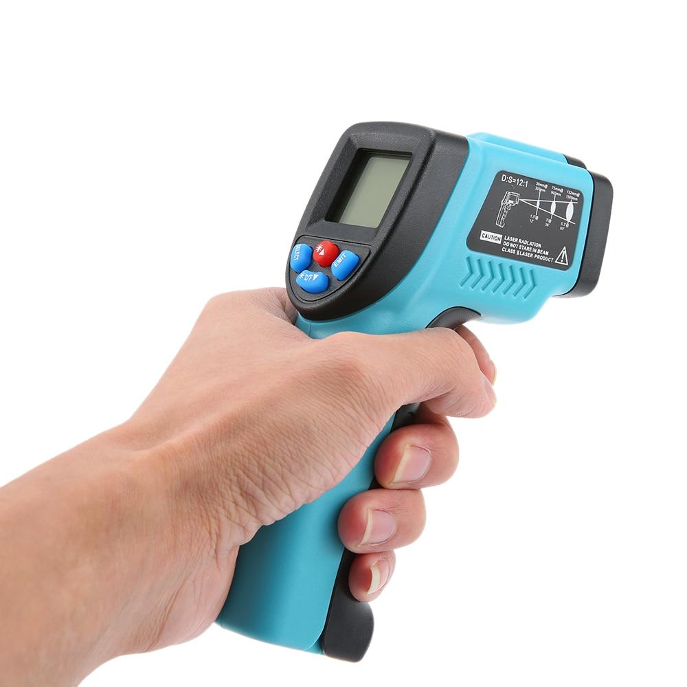 RICHMETERS GM550 termometro digitale Palmare termocamera Senza contatto a Infrarossi Termometro IR Tester di Temperatura Pirometro