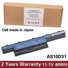 KingSener Japoński Komórek Nowy Bateria Do Acer AS10D31 4551G 4741G 5741G 5742G 5750G 7750G 7760G AS10D51 AS10D71 AS10D81 AS10D73