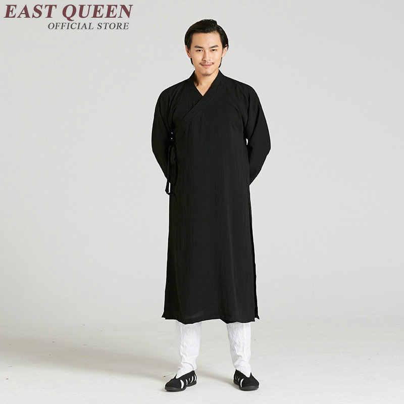 Традиционная китайская одежда для мужчин мужское пальто Верхняя одежда Восточный зимний Тренч Мужская одежда Тренч 2018 KK1343