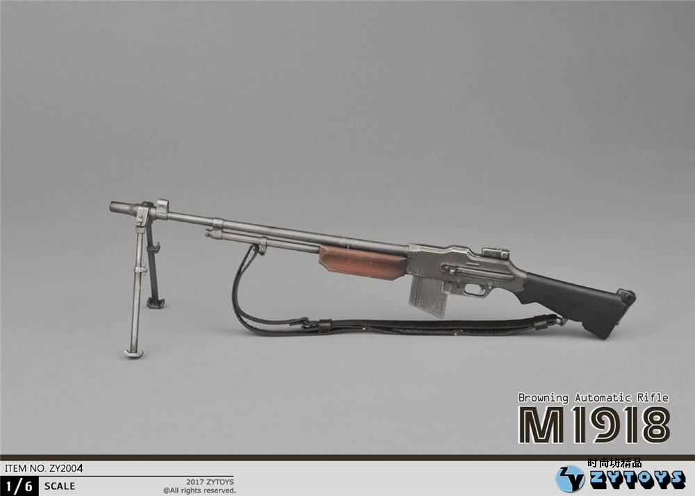 16 Scale WWII US Army M1918 BAR Browning Automatic Rifle fit 12 figure body