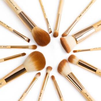 Jessup Bamboo 15pcs Beauty Professional Makeup Brushes Set Make up Brush Tools kit Foundation Powder Definer Shader Liner 1