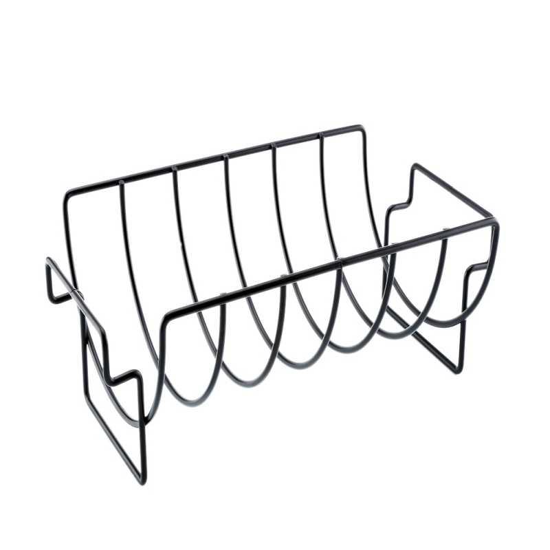 Антипригарная стойка для курицы говяжий стейк стойка для гриля ребра наружная сетка для барбекю оставайтесь твердыми кухонными аксессуарами