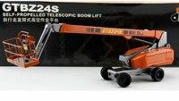 1:40 de trabalho aéreo automático veículo de Engenharia de Liga Leve modelo de veículo de resgate modelo de veículo de engenharia
