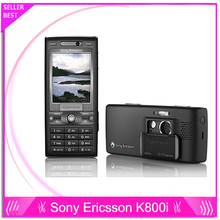 K800 Sony ericsson k800i Original Unlocked Cell Phone 3G GSM Tri Band 3 2MP Camera Bluetooth
