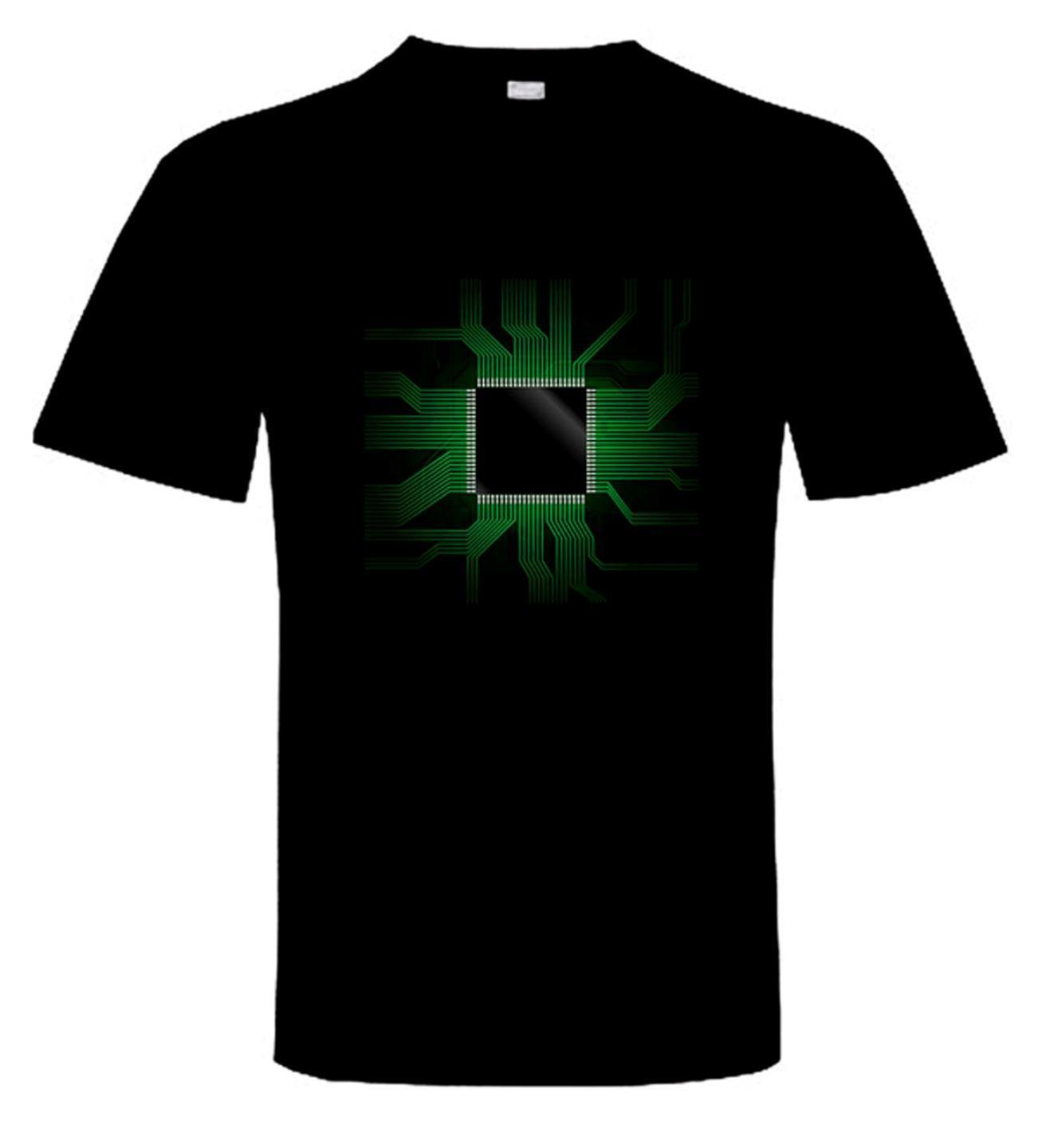 CPU T-SHIRT - Gaming Crowd Gamer Nerd I.T. Computer Techie IT Motherboard Geek New Fashi ...