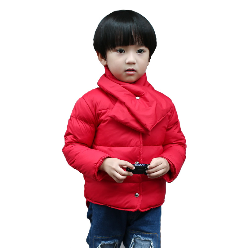 Goose Down Jacket Kids Teenage Winter Coats Little Boys Girls Baby ...