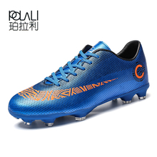 5356b09851 Professional Soccer Shoes SuperflyX VI Elite CR7 MD 360 Flywire Football  Boots Men Women Training Sneaker