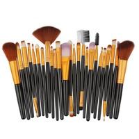 Professional 25pcs Cosmetic Makeup Brush Sets Women's Fashion Blusher Eye Shadow Brushes Set Kit Pincel Maquiagem Drop Shipping Health & Beauty