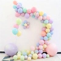 Детский праздничный декор для дня рождения, мятный конфетный шар, пастельный цвет, Свадебный шар, украшение для душа