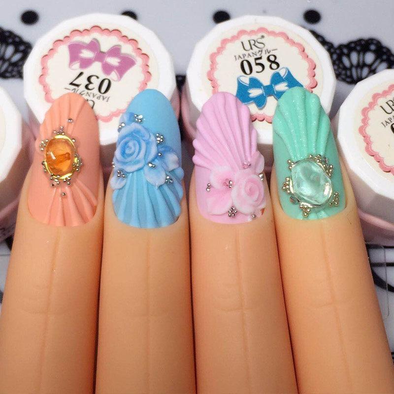 5 Unids / set Nail Art Trainer Entrenamiento Práctico Modelo Dedo - Arte de uñas - foto 4
