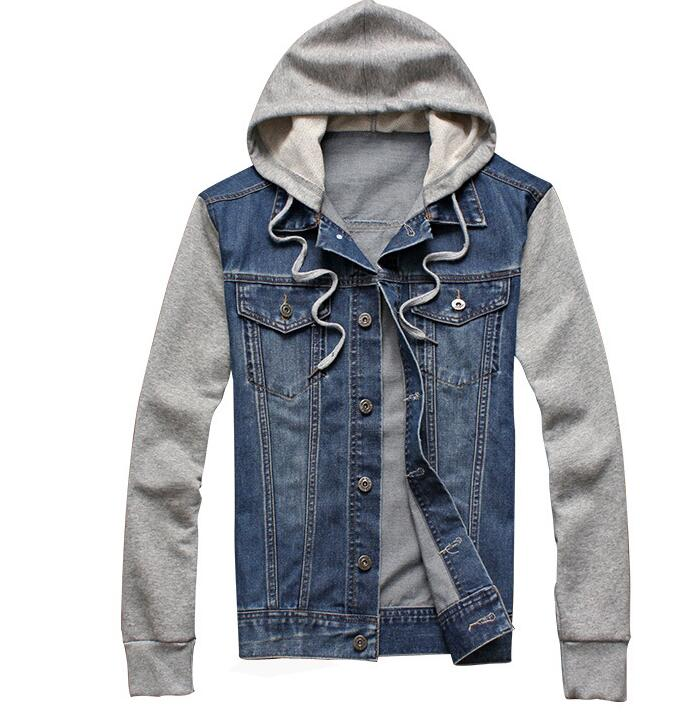 c21ee78cb US $23.65 5% OFF|2019 MEN hoodies Fleece Hoodies Cowboy Jacket Tracksuits  Denim Jacket Men BRAND Jacket Men Hoodies Sweatshirts-in Hoodies & ...