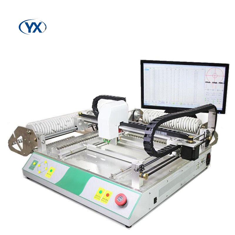 Pick and Place Robot Machine TVM802B-SSolar Mounting SystemGuide Rail Built-in Computer High Voltage Drive Closed-loop motor