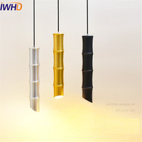 Fashion Aluminum Their Droplight Simple Modern LED Pendant Light Fixtures For Dining Room Bar Hanging Lamp Indoor Lighting