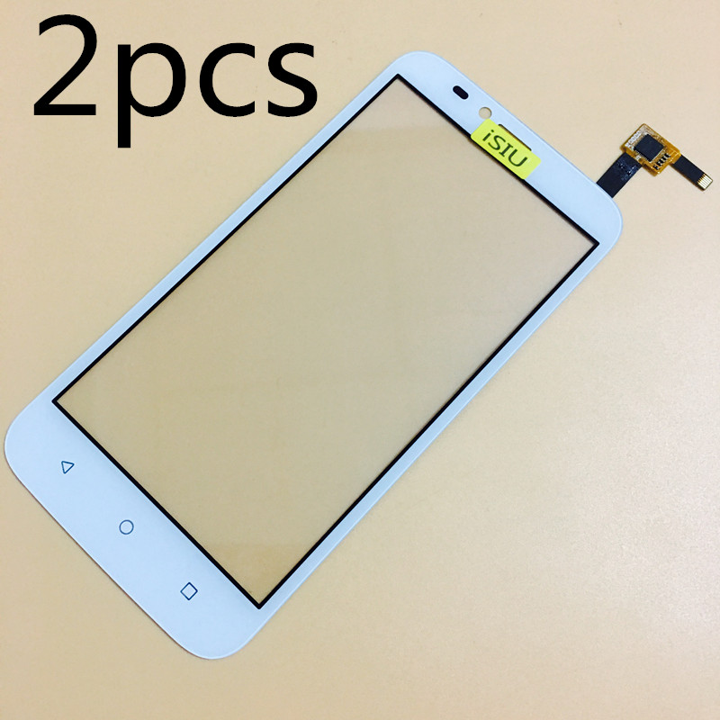 2pcs Wholesale Touch Screen For Huawei Y625 Mobile Phone Touch Panel Glass Digitizer Sensor Repair Black White NO LCD DISPLAY