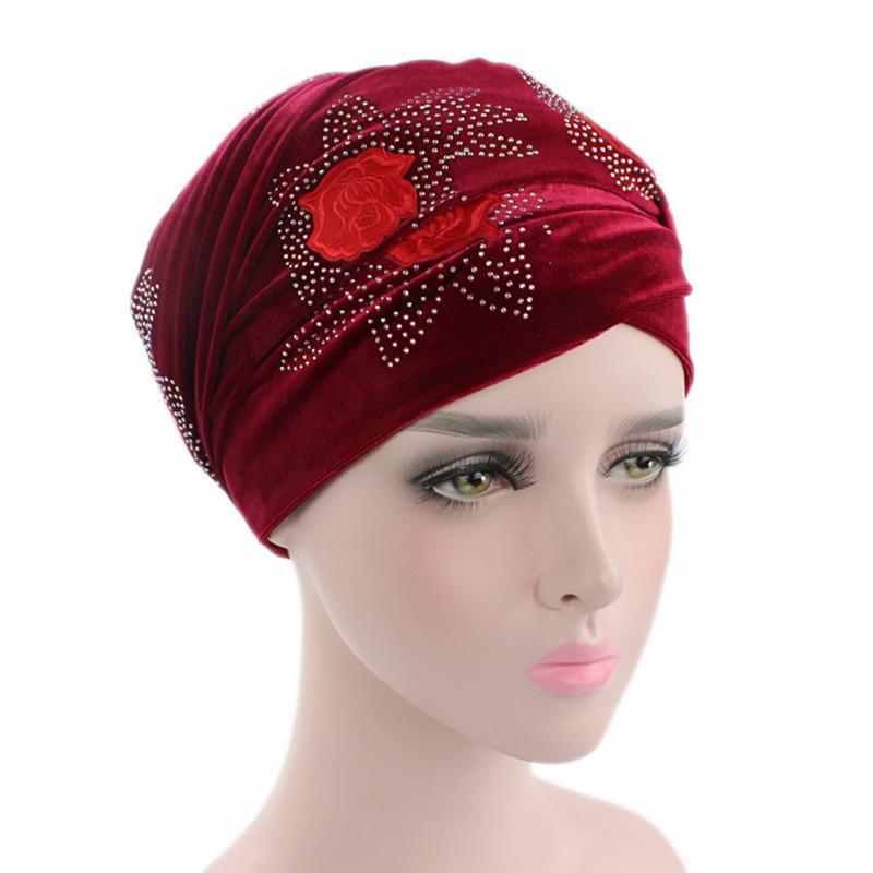 Helisopus 2018 Donne New Red Rose di Velluto Coda Lunga Sciarpa ... a1fc468de057