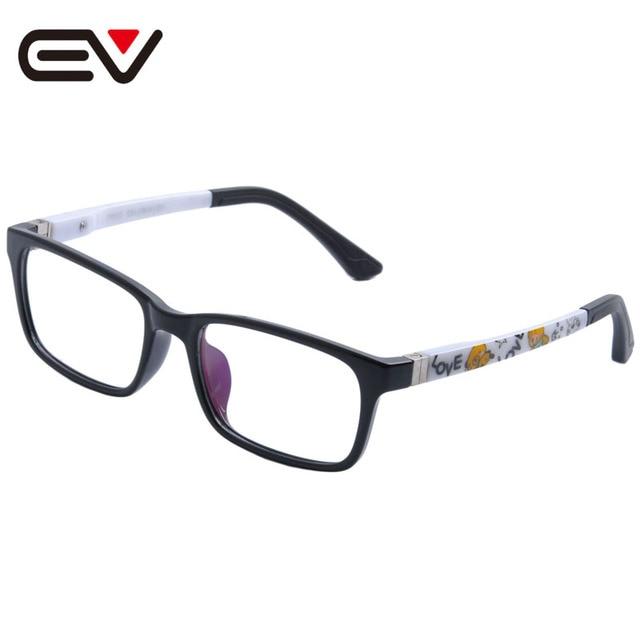 b87d3f93845 Fashion Kids Children Toddler Boys Girls TR90 Eyeglasses Frames Silicone  Nose Spring hinge Legs Optical Glasses Frames EV1363