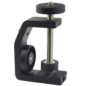 Image 1 - FFYY Multifunctional Aluminum Clip UNC1/4 Inch Screw Universal C Stand Clamp For Camera Tripod Flash Holder Bracket