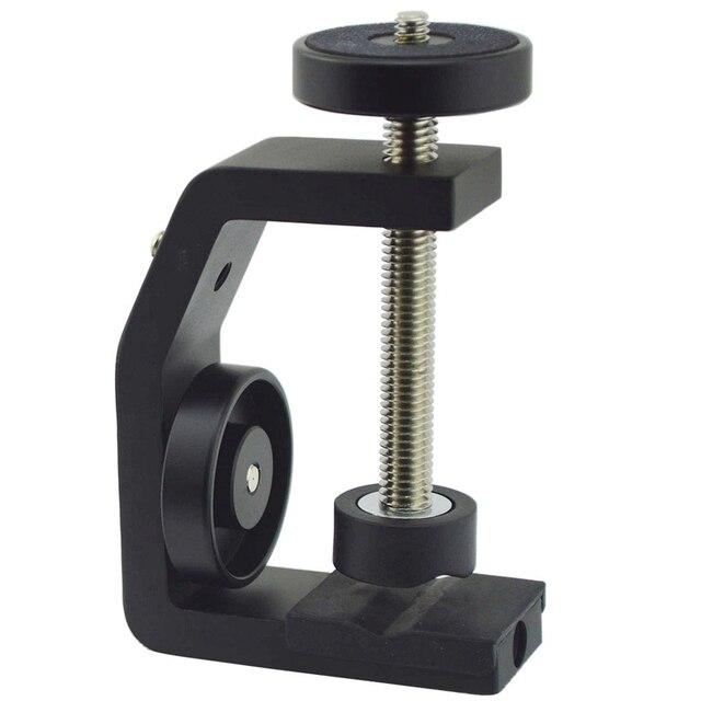 FFYY อลูมิเนียมคลิปUNC1/4นิ้วUniversal C Stand Clampสำหรับยึดกล้องสำหรับยึดแฟลช