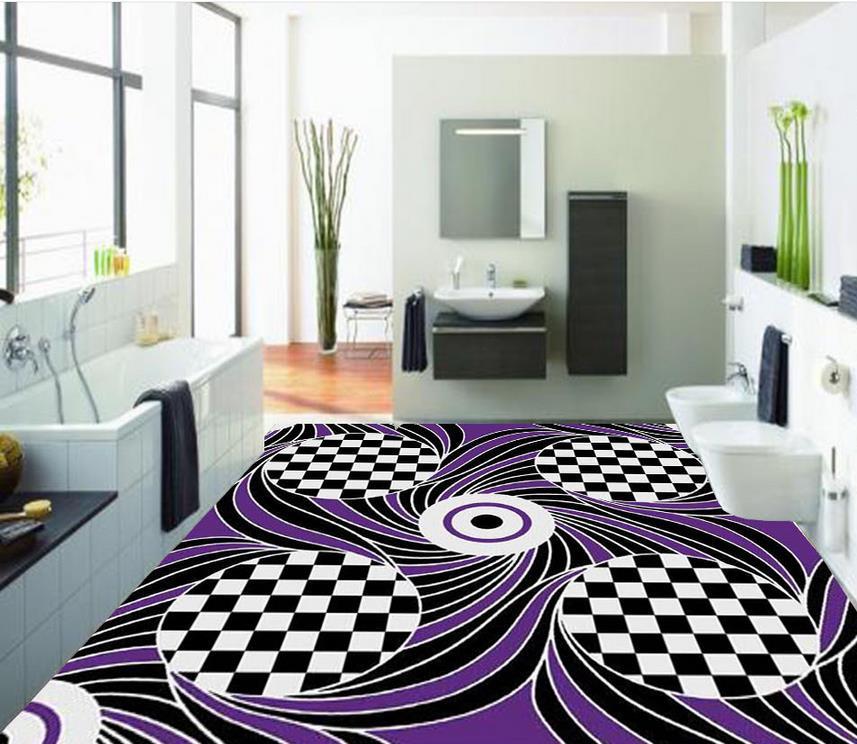 3d floor painting wallpaper abstract pattern 3d floor - Waterproof floor paint for bathrooms ...
