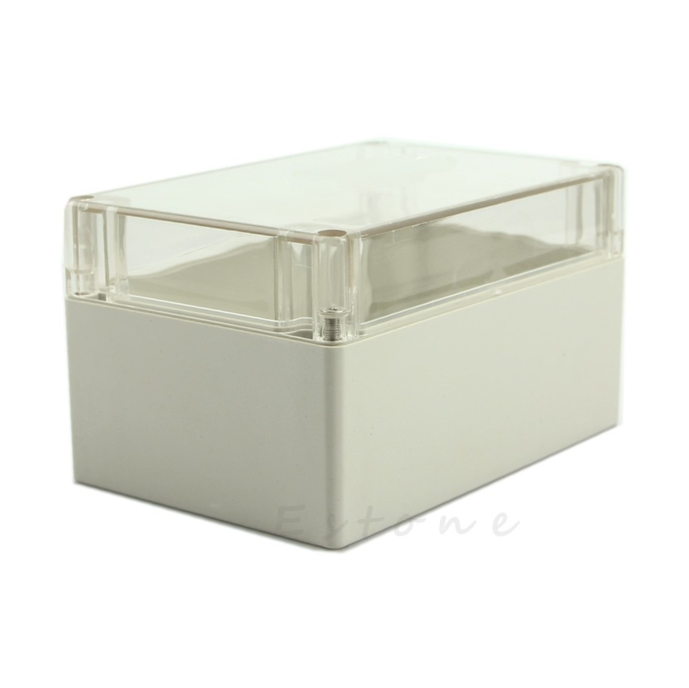 C18 Hot Waterproof Clear Plastic Electronic Project Box