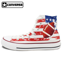 Men Women Converse Chuck Taylor Rugby Original Design Hand Painted Shoes Man Woman High Top Canvas Sneakers Birthday Gifts
