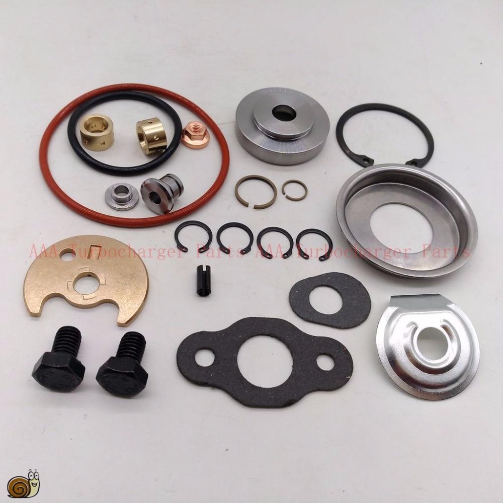 TD04 Turbo kits de reparación/kits de reconstrucción 49377, juego para TD04 turbo flate volver rueda del compresor, proveedor AAA Turbocharger parts