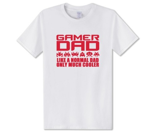 I'm A Gamer Dad Fathers Day Gift Advanced Warfare Console Gaming T Shirt Men Christmas Playstation PC Funny Present Joke T-shirt 4