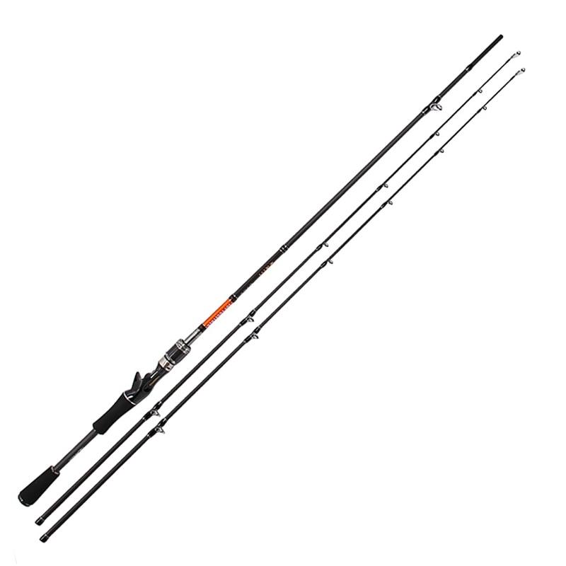 Trulinoya baitcasting fishing rod m ml power ultra light for Casting fishing rod