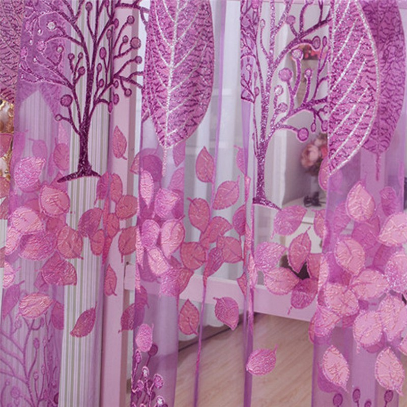 2017 curtains Wholesale on sale Tulle 3dWindow Sheer Curtains for Living Room cortinas curtains for Bedroom Kitchen Panel 1pc