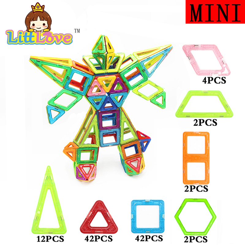 MylitDear 108 PCs Robot Enlighten Educational Magnetic Building Blocks Construction Bricks Toys Christmas Gift