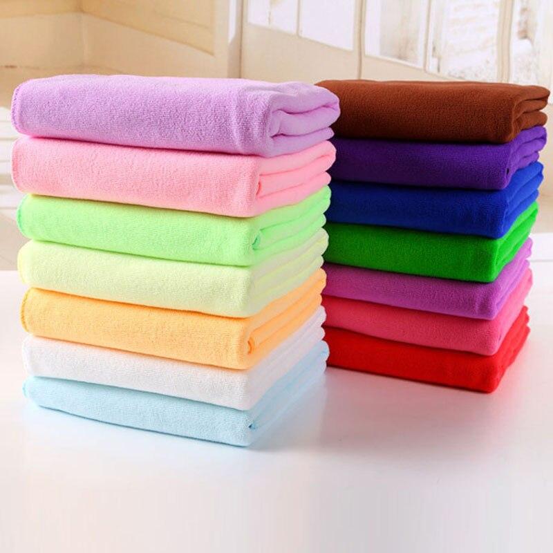 shop 70 x 140 cm Fiber De Bambou Microfibre Sechage Rapide Douche Bath Towel Douce Super Absorbant Home Textile Large Thick Towel with crypto, pay with bitcoin