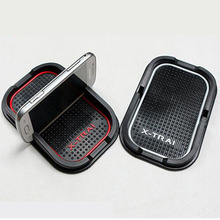 Car Styling For Nissan X-trail 2009 – 2015 2016 Anti Slip Pad Mat Mobile Phone GPS Holder 3color Automobile Interior Accessories