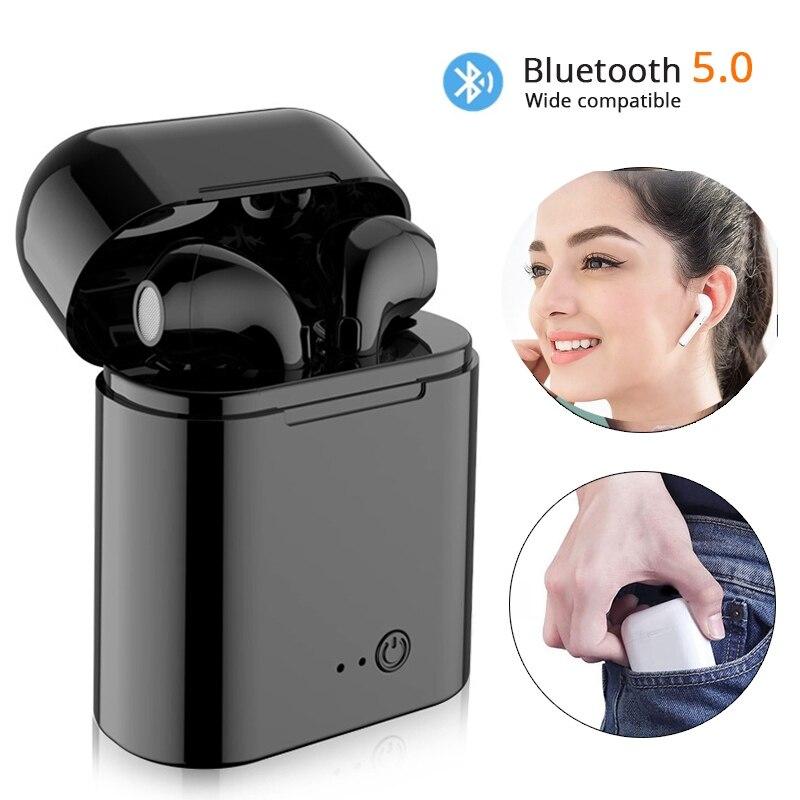 2019 Vip Ture I7S Tws Bluetooth Earbuds Headset Wireless Mini In-ohr Kopfhörer Mit lade Box Für Dropshipping verkäufer