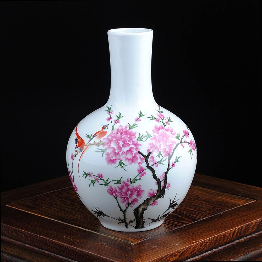 Free Shipping Mini delicate chinese famille rose porcelain flower - Home Decor - Photo 4