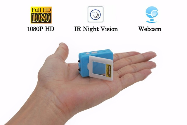 2016 Brand 1080P HD Mini Camera Infrared Night Vision IR DV Secret Micro Secret Cam 12MP Webcam Camcorder Motion Detection