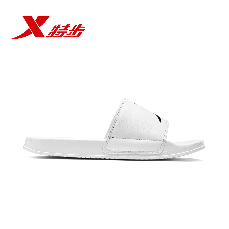 881219359591 Xtep 2019 summer men 39 s slippers casual breathable sports sandals men 39 s non slip wear men 39 s shoes in Beach amp Outdoor Sandals from Sports amp Entertainment